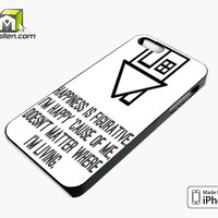 The Neighbourhood Quotes Band iPhone 5s Case Cover by Avallen