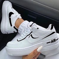 Nike Air Force 1 Af1 Low-Top Joker Flat Sneakers Shoes Color Add To Edge