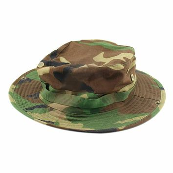 Outdoor Casual Combat Como Rip-stop Army Military Bonnie Bush Jungle Sun Hat Cap