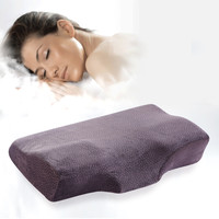 IDOSHOW Memory Foam Butterf Bedding Neck Head Memory Pillow  Green Camei Azure Adults hotel Bed Pillow high quality brand new