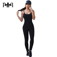 Sexy Club Jumpsuit Romper Women Fitness Slim Bodysuit Night club Party Wear Overalls Long Sleeve Rompers Womens Bodycon Jumpsuit
