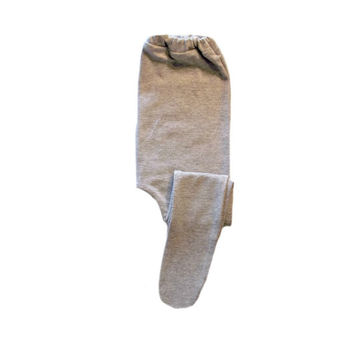 Heather Gray Baby Girl Tights 6 Sizes for Preemie, Newborn and Toddlers up to 24 Months. Cotton Spandex for a Soft Stretch, Elastic Waist.