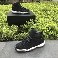 Air Jordan Retro 11 shoe PRM Heiress Black Mens Basketball Shoes Golden Retros 11s men womens Sports Sneakers US 5-13 With box