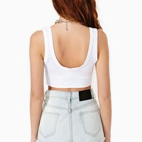Scooped Crop Tank