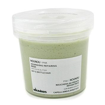 Davines Nounou Nourishing Repairing Mask for Dry and Brittle Hair, Unisex, 8.45 Ounce