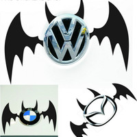 Reflective Tape Batman Rear Logo Sticker Car Stickers Car Accessories Golf 7 Car Styling and Decals Motorcycle Stickers