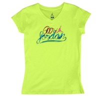 Jordan Laces Out T-Shirt - Girls' Grade School