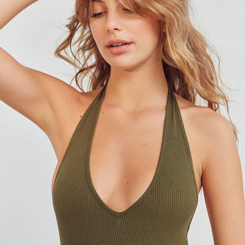 Out From Under Brooke Halter Bodysuit | Urban Outfitters