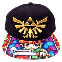 Legend of Zelda Stained Glass Snapback