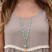 Where to Start Necklace