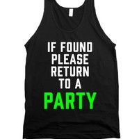 """If Found, Please Return To A Party"" 