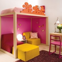 Solid wood bunk bed 7070 Boxer Collection by dearkids