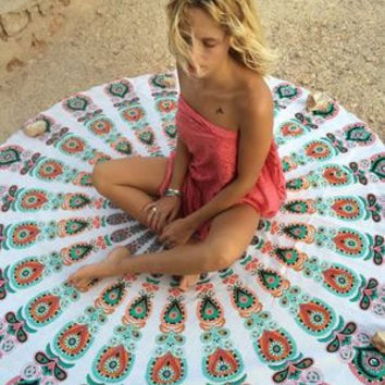 Fashion Large Mandala Tapestry Hippie Hippy Wall Hanging Throw Bedspread Dorm Tapestry Decorative Wall Hanging Picnic Beach Sheet Coverlet  _ 5041