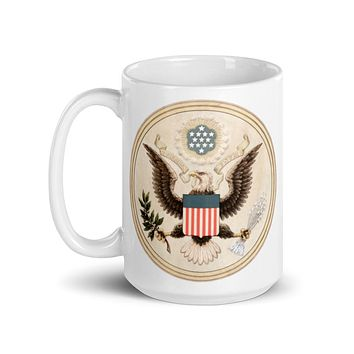 Seal of the United States by Andrew Graham Mug