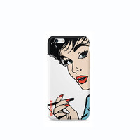60's Pin Up Girl iPhone 6 case, iPhone 4 case, iPhone 5 5s case, iPhone 5c case, Nexus 5 case, LG G3 case, Galaxy S5 case