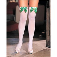 Shirley of Hollywood IS-SOH-90197 ST Patty day opaque stockings