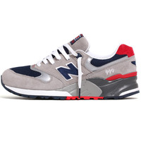 ML999AE 'Vintage Classics' Sneakers Light Grey / Navy / Red