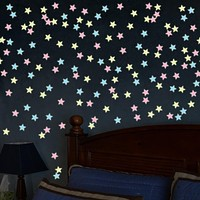 Decorative Wall Stickers - Luminous Wall Stickers Scenic / Shapes Living Room / Bedroom / Bathroom