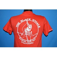 80s The Black Whale Bar Marina Del Reye t-shirt Small