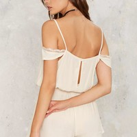 Romeo Cold Shoulder Romper