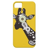 Funky Paisley Giraffe Cool iPhone 5 Cases: Unique Animal iPhone 5 Phone Covers