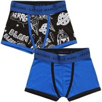 Little Marc Jacobs Boys Two-Pack Boxers
