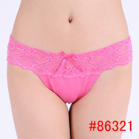 2016 Real Sale women underwear bragas thongs women's panties Butt Lifter Cotton Lace Underwear women briefs