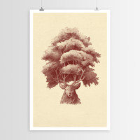 Terry Fan's Old Growth POSTER