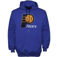 NBA adidas Indiana Pacers Primary Logo Pullover Hoodie - Royal Blue