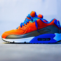 Nike Air Max '90 Essential - Team Orange/Cobalt/Brown