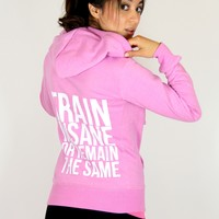 oGorgeous Gym Boutique - Train Insane Warmup Zip Up Hoodie (3 colors)
