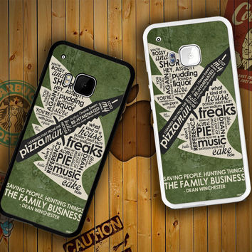 Supernatural Inspired Quote F0673 HTC One S X M7 M8 M9, Samsung Galaxy Note 2 3 4 S3 S4 S5 (Mini) S6 S6 Edge