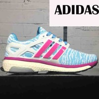 Adidas classic popcorn men and women trend sports shoes F-CSXY blue