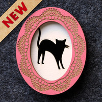 Design It Yourself Cameo Brooch - Oval — bRainbow