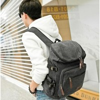 Girls bookbag Men Women Canvas Bags School Backpack for Teenagers Boys Girls Backpacks Large capacity Travel Laptop Bag Rucksack Bookbags AT_52_3