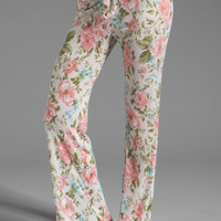 Wildfox Couture Silverlake Pants in Pearl Jam from REVOLVEclothing.com