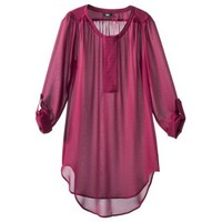 Mossimo® Women's Long Tunic Top - Assorted Colors