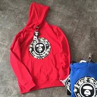 AAPE Classic Fashion Hooded Top Sweater Pullover Hoodie