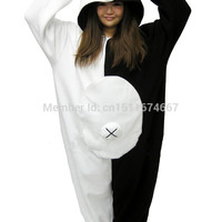 Fleece Onesuit Pyjama Costume - Danganronpa Dangan Ronpa Monokuma & Monomi Halloween Christmas Carnival Party Clothing