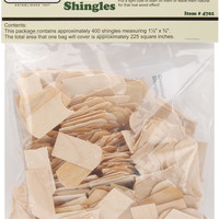 dollhouse shingles-fishscale/greenleaf
