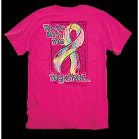 Itsa girl Thing Hope Cancer Ribbon Awareness In This Together Bright Girlie T-Shirt