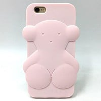 case for iphone 5 5s se 5C 6 6S plus 7 7plus Cute Tous Bear 3D Cartoon Soft Rubber Silicone Phone Protector Accessories Cover