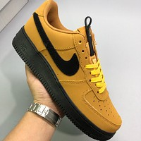NIKE AIR FORCE 1 Hot Sale Couple Colorblock Casual Sneakers