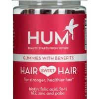Hum Nutrition Hair Sweet Hair Gummies with Benefits Dietary Supplement | Nordstrom
