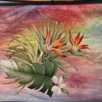 Hawaii Sunset by textilewonder on Zibbet