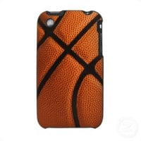 basketball case for iPhone 3 from Zazzle.com