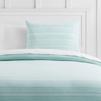 Space Dye Jersey Duvet Cover + Sham