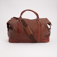 Tan Leather Holdall