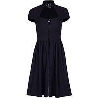The Cross Buckle Mini Dress