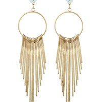 Casual Boho Tassel Long Earring